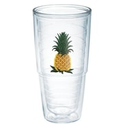 Tervis Tumbler Garden Party Pineapple Plastic Every Day Glass; 24 oz.
