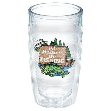 Tervis Tumbler Great Outdoors I'd Rather Be Fishing 10 Oz. Wavy Tumbler; No