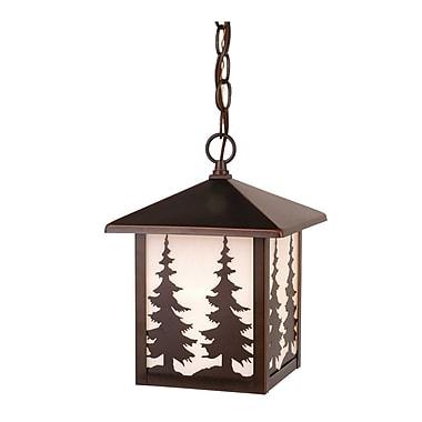 Vaxcel Yosemite 1-Light Outdoor Hanging Lantern