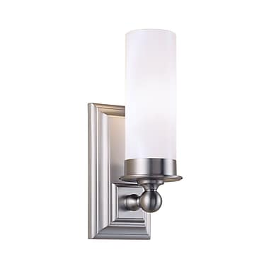 Norwell Lighting Richmond 1-Light Wall Sconce; Brushed Nickel