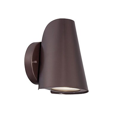 Acclaim Lighting 1-Light Outdoor Sconce; Architectural Bronze