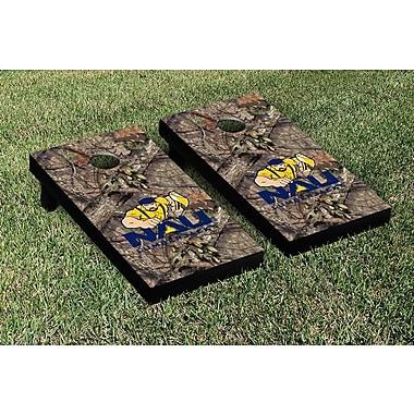 Victory Tailgate NCAA Mossy Oak Version Cornhole Game Set; Northern Arizona University Lumberjacks