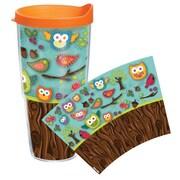 Tervis Tumbler Garden Party Owls Tumbler w/ Lid; 24 oz.