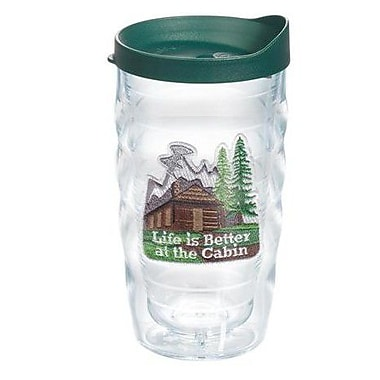 Tervis Tumbler Great Outdoors Life is Better at the Cabin 10 Oz. Wavy Tumbler; Yes