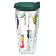 Tervis Tumbler Great Outdoors Fishing Lures Tumbler w/ Lid; 24 oz.