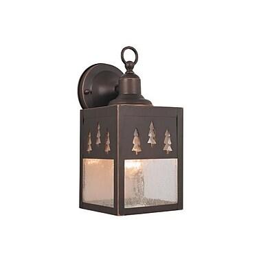 Vaxcel Yellowstone 1-Light Outdoor Wall Lantern