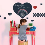 WallCandy Arts Heart Chalkboard Wall Decal