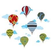 WallCandy Arts Hot Air Balloons Wall Decal