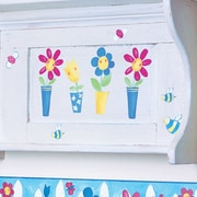 Wallies Silly Flower Pots Wall Decal