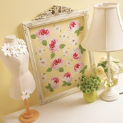 Wallies Roses and Daisies Wall Decal
