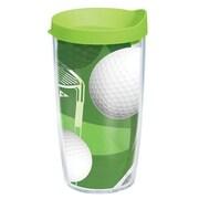 Tervis Tumbler Game On Golf Balls Tumbler w/ Lid; 16 oz.