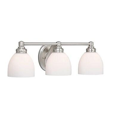 Vaxcel Stockholm 3-Light Vanity Light
