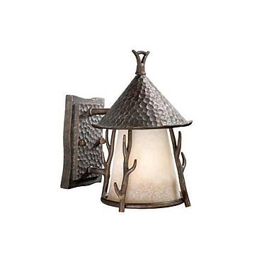 Vaxcel Woodland 1-Light Outdoor Wall Lantern; 7''