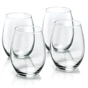 Anchor Hocking 15 Oz Stemless Wine Glasses (Set of 4)