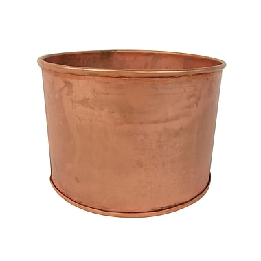Craft Outlet Copper Bucket (Set of 2); 4.75''