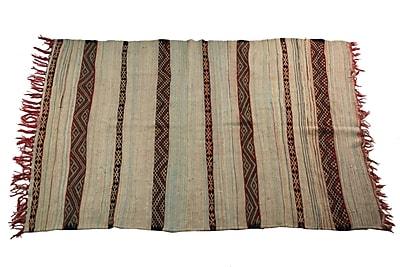 Casablanca Market Boucherouite Carpets Hand-Woven Area Rug