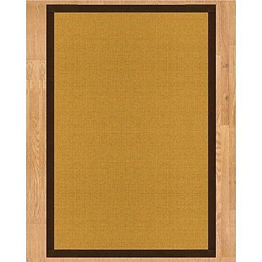 Natural Area Rugs Davlin Hand Crafted Fudge Area Rug; Runner 2'6'' x 8'