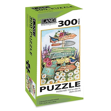 LANG Garden Sign Jigsaw Puzzle, 300 Pieces, (5040101)