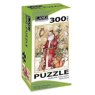 Lang – Casse-tête, Père Noël dans la forêt, 300 morceaux, (5040105)