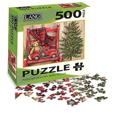 LANG Bear In Chair Jigsaw Puzzle, 500 Pieces, (5039109)