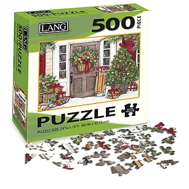 LANG Holiday Door Jigsaw Puzzle, 500 Pieces, (5039115)
