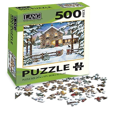 LANG Nestled In The Pines Jigsaw Puzzle, 500 Pieces, (5039118)