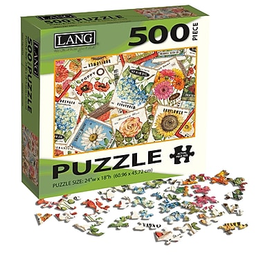LANG Seed Packets Jigsaw Puzzle, 500 Pieces, (5039122)