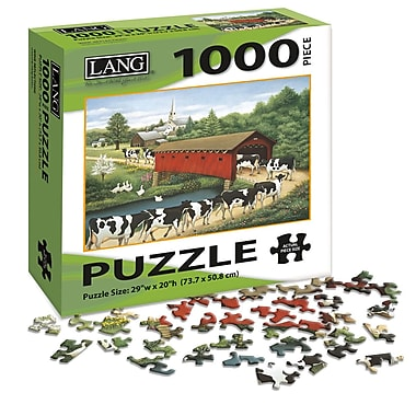 LANG Cows, Cows Cows Jigsaw Puzzle, 1000 Pieces, (5038012)