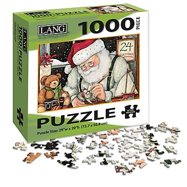 LANG Santa's Workshop Puzzle, 1000 Pieces, (5038021)