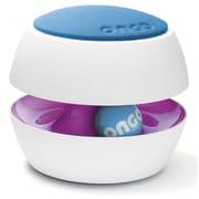 ONGO Adjustable Height Bar Stool; Light Blue/Purple