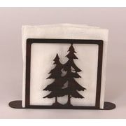 Coast Lamp Mfg. Pine Tree Napkin Holder