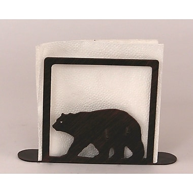 Coast Lamp Mfg. Bear Napkin Holder