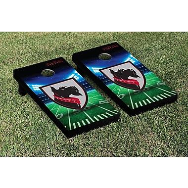 Victory Tailgate NCAA Stadium Version Bag Toss Game Set; Carnegie Mellon Tartans