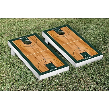 Victory Tailgate NCAA Border Basketball Version Cornhole Game Set; Lake Erie LEC Storm