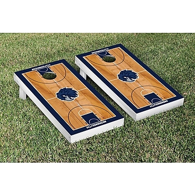 Victory Tailgate NCAA Border Basketball Version Cornhole Game Set; Monmouth Hawks