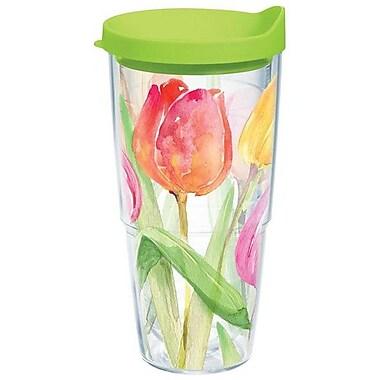 Tervis Tumbler Garden Party Tea for Tulips Tumbler w/ Lid; 24 oz.