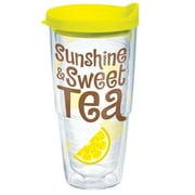 Tervis Tumbler Eat Drink Be Merry Sunshine Sweet Tea Tumbler w/ Lid; 24 oz.
