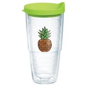 Tervis Tumbler Eat Drink Be Merry Pineapple Expression Tumbler w/ Lid; 24 oz.