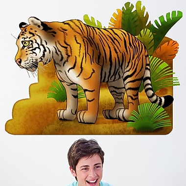 Wallhogs Tiger I Cutout Wall Decal; 36'' H x 48'' W