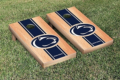 Victory Tailgate Stripe Hardcourt Version Cornhole Game Set; Penn State PSU Nittany Lions