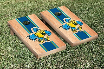 Victory Tailgate Stripe Hardcourt Version Cornhole Game Set; Delaware UD Blue Hens