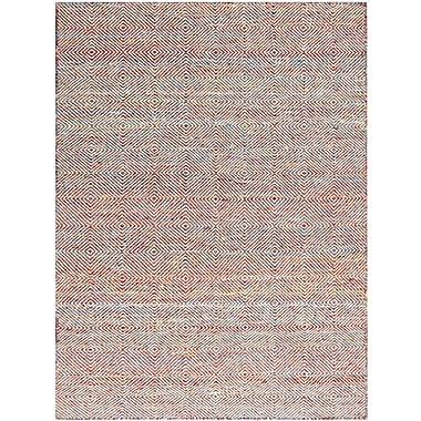 AMER Rugs Amber Hand-Tufted Rainbow Area Rug; Rectangle 4' x 6'