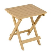 LeighCountry Adirondack Folding Table; Buttercream