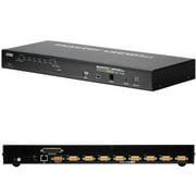 Aten® CS1708I 8 Port PS/2 - USB IP KVM Switch