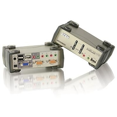 Aten® CS1732B 2 Port USB 2.0 Desktop KVMP Switch with OSD