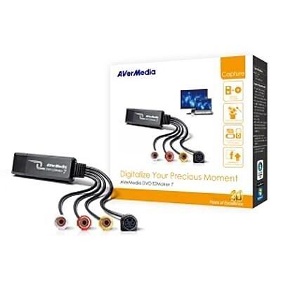 AVerMedia® MTVDVDEZ7 EZMaker 7 USB 2.0 Signal Converter
