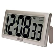 "Chaney Instruments Acurite® 6""H x 13.5""W x 1.8""D Timex Intelli-Time Digital Clock (75071TA1)"
