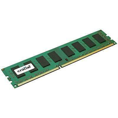 Crucial™ CT102472BA186D 8GB (1 x 8GB) DDR3 SDRAM UDIMM DDR3-1866/PC-14900 Desktop RAM Module