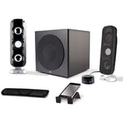 Cyber Acoustics 92 W 2.1 Booming Speaker System, Black