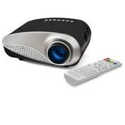 FAVI® RioHD-LED-K1 HVGA LCD Portable Projector, Black